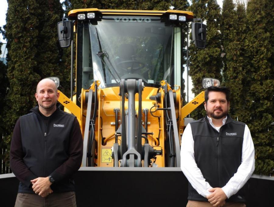 Cameron Preston (L) and Jonathan Oney have joined PacWest Machinery, based in its Kent, Wash. headquarters location.
