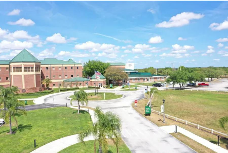 Lake-Sumter State College's South Lake campus in Clermont, Fla., will be the site of the Pinecrest Lakes Academy Middle/High School. (Lake-Sumter State College rendering)