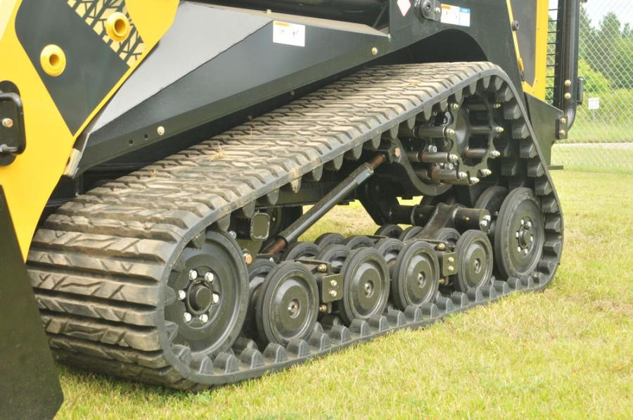 ASV's OEM tracks allow operators to do more in more places.