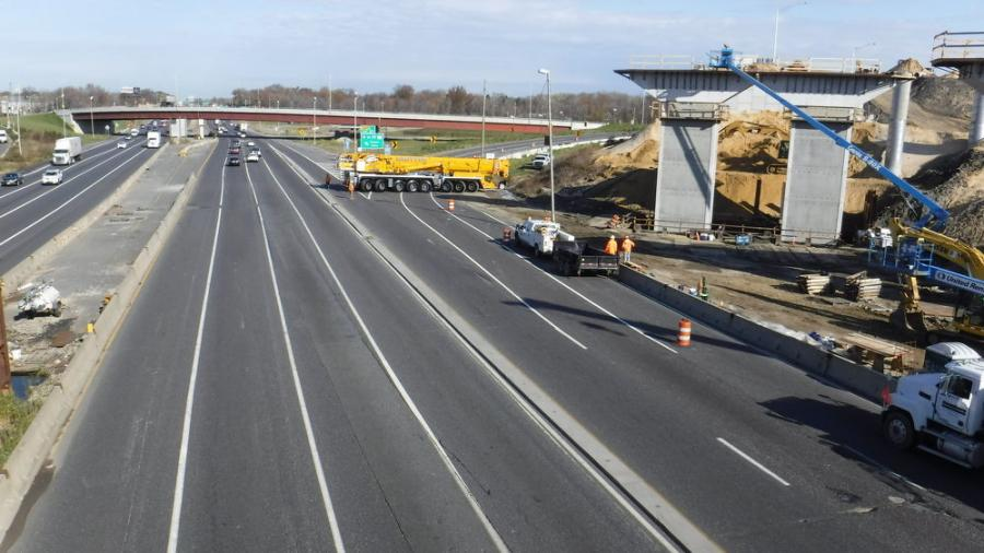 """The project consists of three major highways,"" said Direct Connection Contract 3 project engineer Bill Gaus. ""I-295, which is a major north-south interstate in New Jersey that parallels I-95, which goes through Philadelphia, and I-76, which turns into NJ Route 42, which is a major highway between southern New Jersey, including the southern Jersey Shore and Philadelphia."