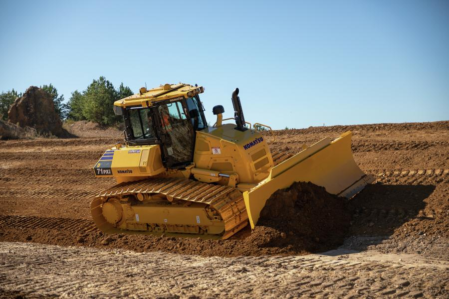 The industry's newest slant-nosed HST dozer also is available with Komatsu's latest intelligent Machine Control (iMC) 2.0 capabilities.