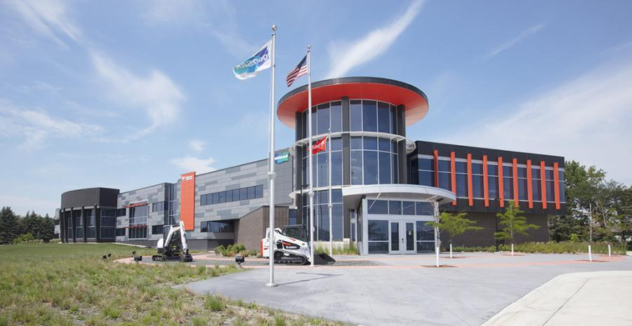 Achieving the gold certification, the second highest rating available, makes the Doosan Bobcat facility one of 12 structures in the state of North Dakota to achieve LEED Gold and the second Doosan Bobcat building in the state to earn LEED recognition.