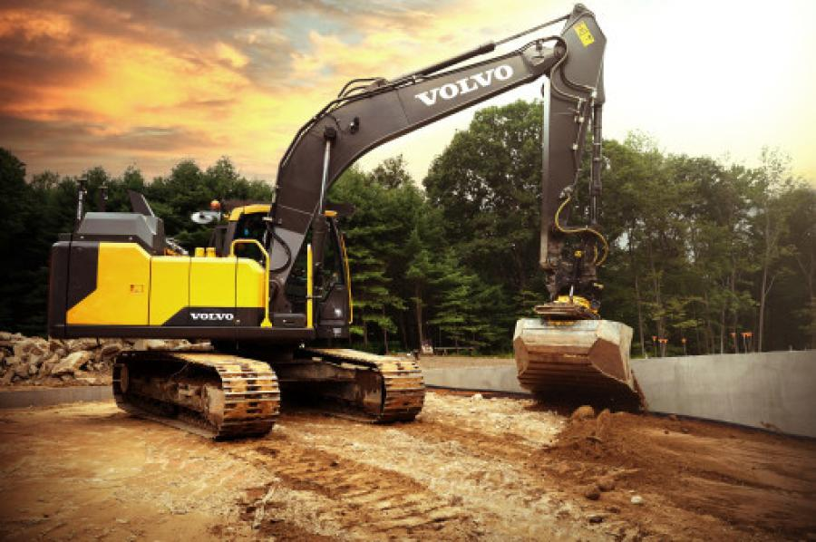 The project is the start of a global collaboration agreement between Volvo Construction Equipment and Engcon. The goal is to offer machines with Engcon's tiltrotator and safe quick couplers prepared as an integral part of the machine.