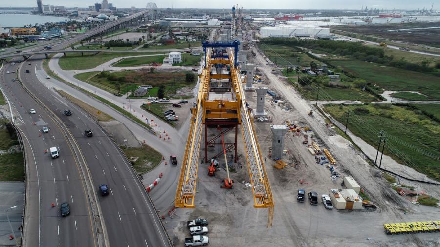 The Texas Harbor Bridge Project is an $802-million endeavor.
