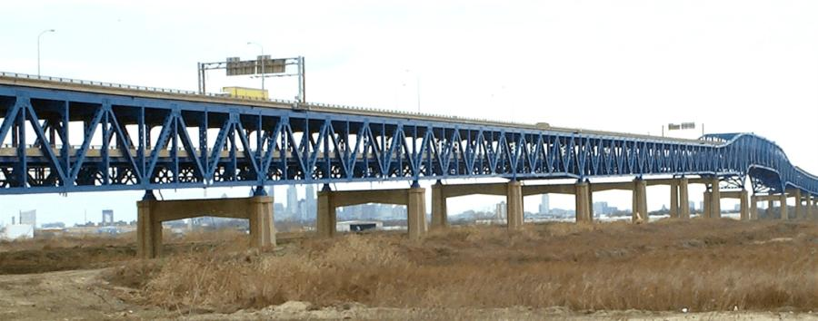 Philadelphia's mile-long Girard Point Bridge is one nine bridges on six interstates that has been identified by PennDot as needing upgrades.