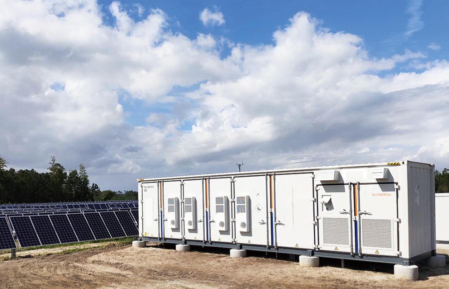 Chisholm Grid has been under construction since August of 2020 and will be one of the largest battery energy storage facilities in Texas when work onsite is completed this June.