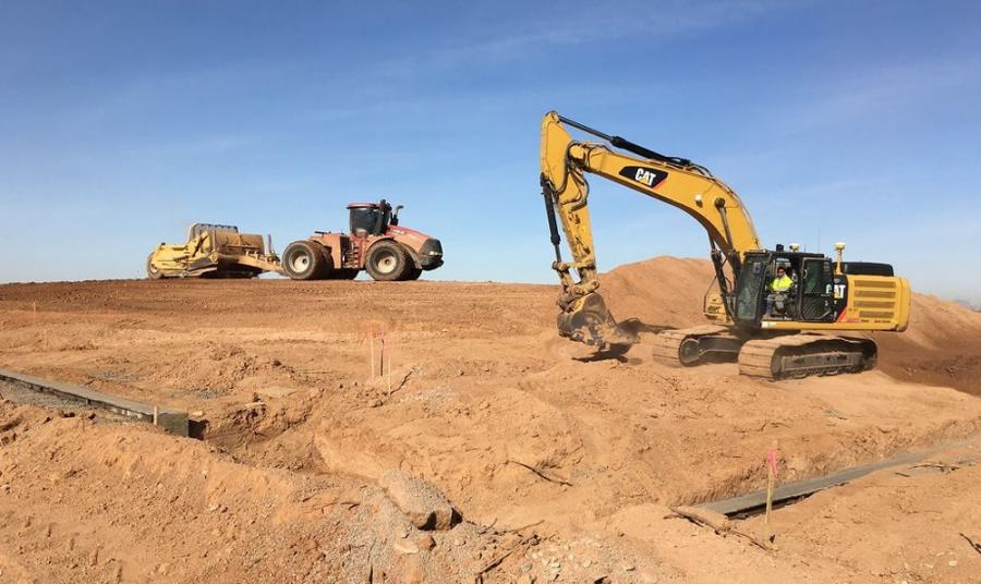 The $77 million SR 24 project, which started in December, will add an interim four-lane divided roadway for 5 mi. between Ellsworth Road and Ironwood Drive.