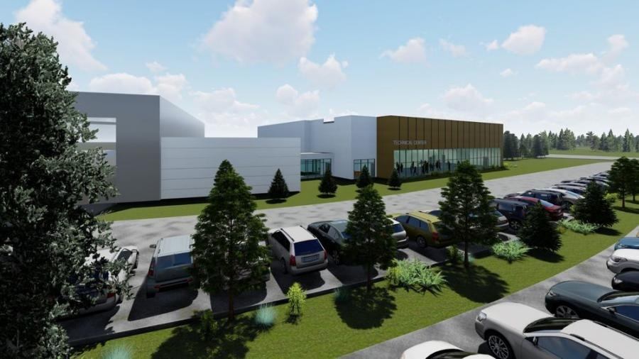 The Customer Center at Volvo CE's North American headquarters in Shippensburg, Pa., will undergo a $4.3 million expansion.