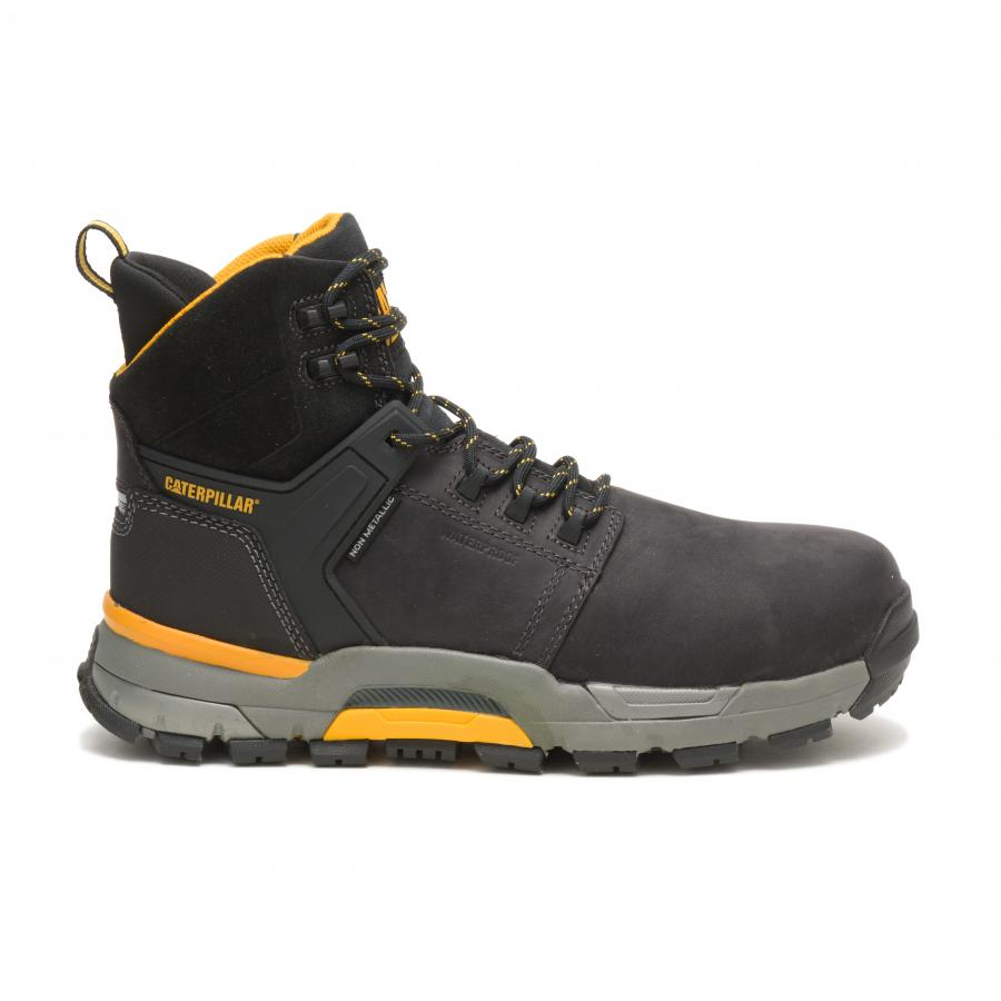 The outsole design of the boot provides optimal stability with a wide, full-ground midfoot contact to reduce ankle rotation and weight bearing stresses. The ergonomic insole design supports the three main arches of the foot in order to reduce lower extremity fatigue, prevent overuse of the arches when standing and to create more stability by making full contact with the foot.