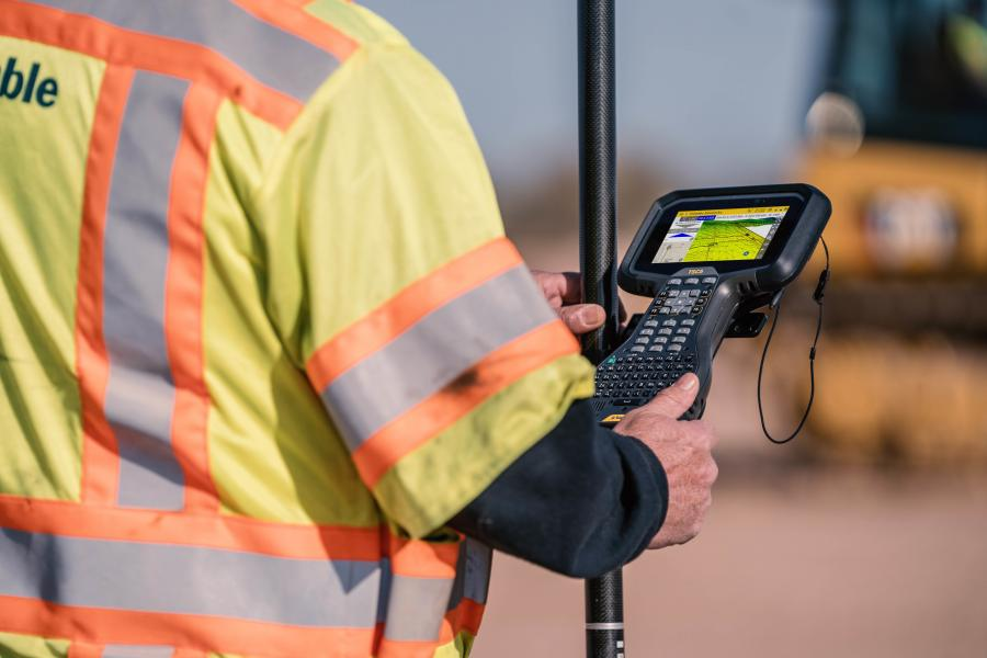 Featuring an Android 10 operating system, the Trimble TSC5 is fully integrated with Trimble's land and construction surveying instruments and software packages, including TrimbleAccess 2021 Field Software, Trimble Siteworks Software.