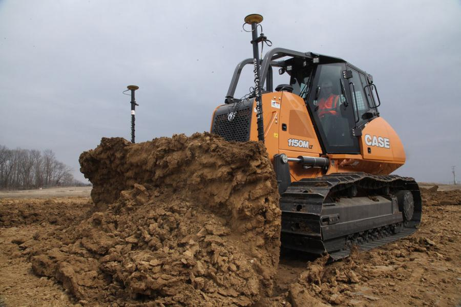 Available on Case 750M through 2050M dozers, factory-fit machine control simplifies ordering and acquisition, streamlines installation and increases residual/resale values.