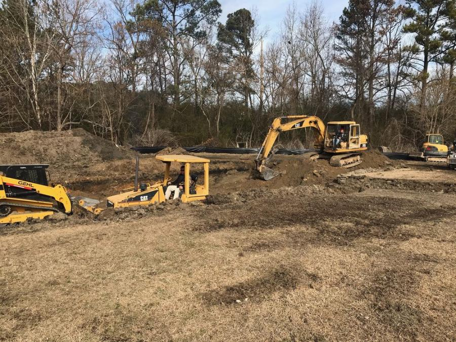 In Walker County, Ala., work is under way on the longwall expansion project of the Alabama Mining Academy at Bevill State Community College (BSCC).