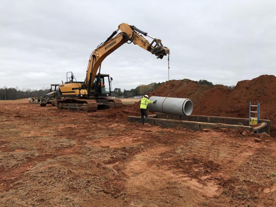 Piedmont Pipe Construction is a leading provider of underground water, sewage and storm drain utilities at sites throughout the Charlotte and upstate South Carolina region.