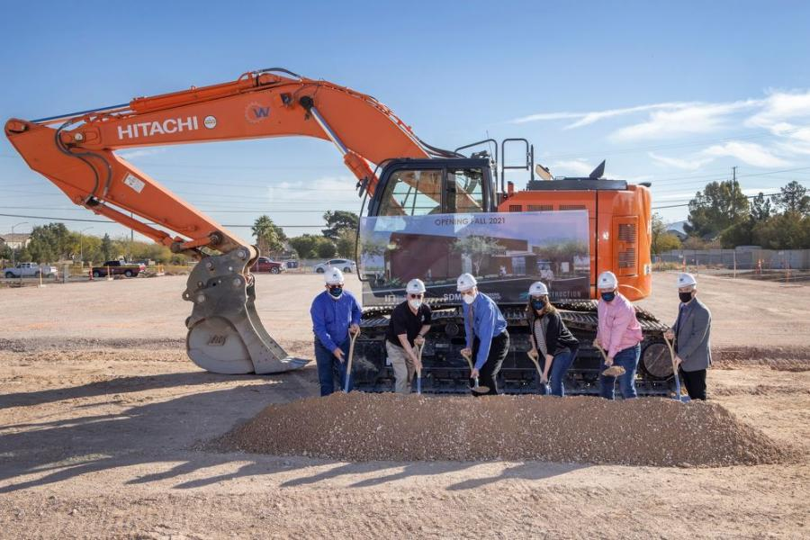 Nevada-based design-build general contractor SR Construction officially broke ground on the 10th SDMI facility, which will be located at the intersection of Blue Diamond Road and Lindell Road in Las Vegas.