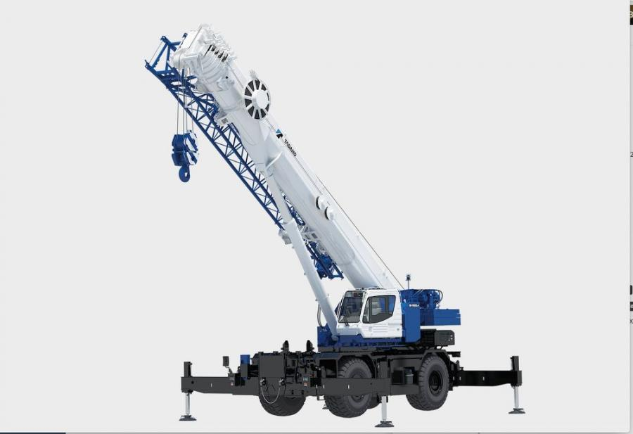 The GR-1300XL-4 expands Tadano's rough terrain offerings into the 130 ton weight class.