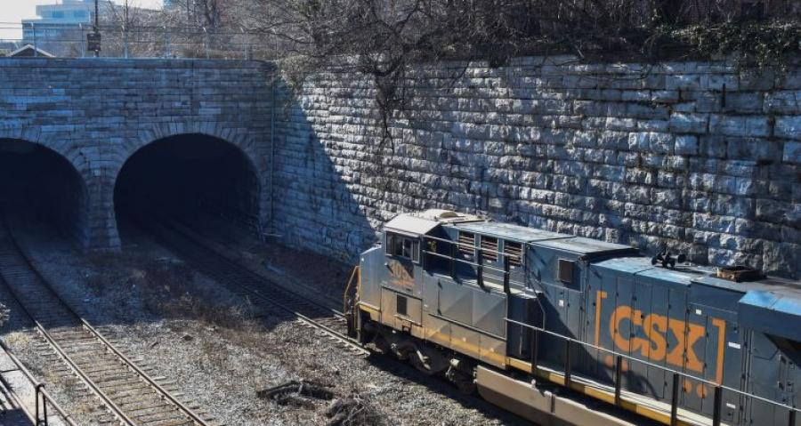 Maryland officials have been pushing for years to increase the height of the 126-year-old Howard Street tunnel to allow for double-stacking of containers on trains traveling to and from the Port of Baltimore.