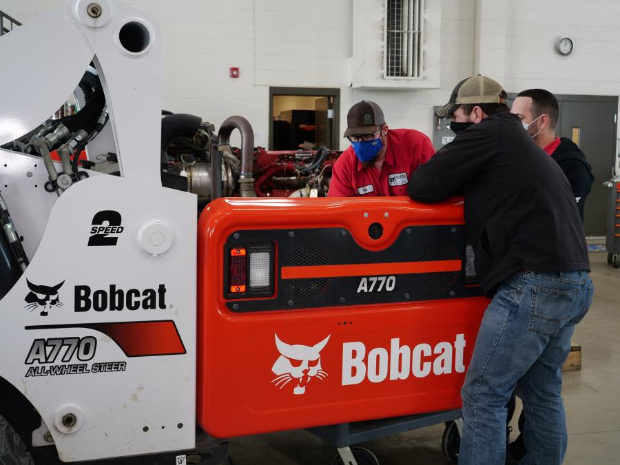 Over the last 15 years, Doosan Bobcat has contributed more than $620,000 in equipment, pledge amounts and supplies to the diesel equipment technology program at M State.