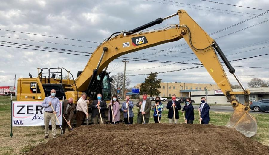 Tennessee Department of Transportation Commissioner Clay Bright joined state and local officials in Rutherford County to break ground on the Jefferson Pike (SR 266) widening project. (TDOT photo)