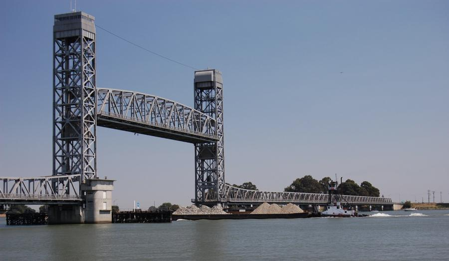 Benicia, Calif.-based Golden State Bridge Inc. is the prime contractor and was awarded the projectto fix the historic Rio Vista Bridge because of its expertise.