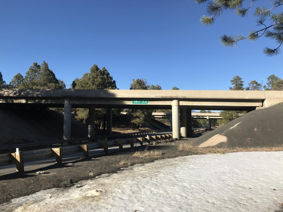 The project, which is approximately 3 miles west of the junction with Interstate 17, will replace the east- and westbound bridges on I-40 in their entirety.