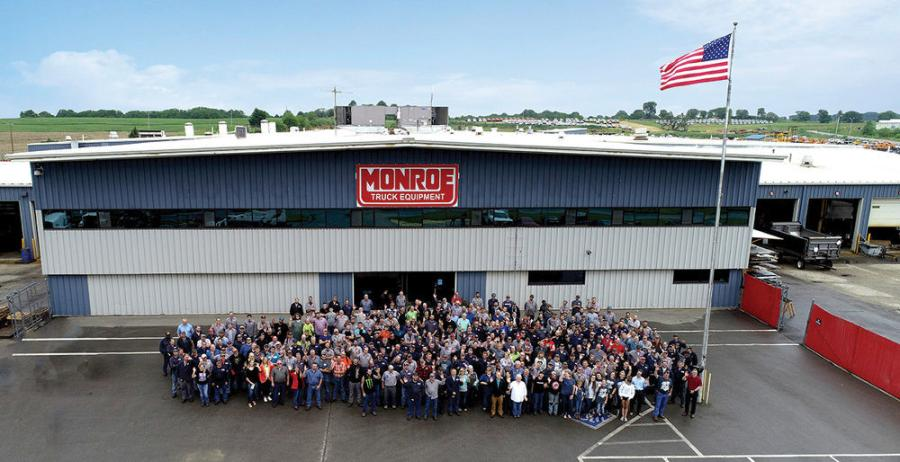 Wisconsin's Monroe Truck Equipment is an industry-leading truck and trailer equipment manufacturer, upfitter and distributor, with a mission to move communities forward.