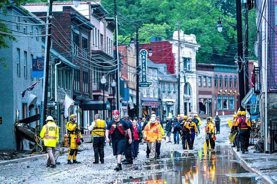 The tunnel, now planned to run from 8800 Frederick Road to the river, will divert water cascading into the steep-sided valley during storms. Ellicott City, Md., has endured devastating washouts 16 times since 1817, including the two most recent in 2016 and 2018.