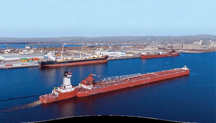 (Duluth Seaway Port Authority photo)