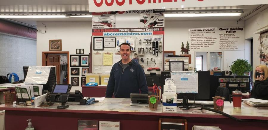 Rob Kellner, owner and president of ABC Rentals, carries on the family tradition.