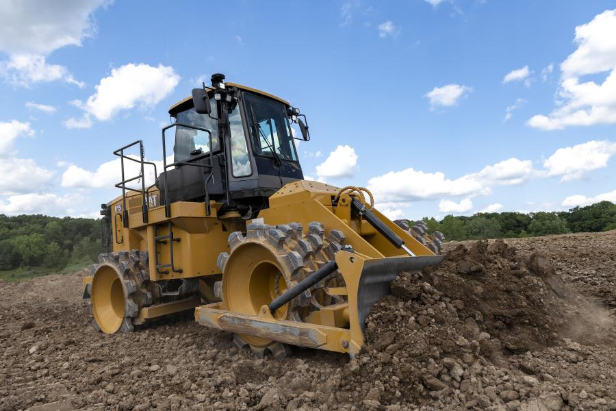 With the new 815 soil compactor, Cat Compact GPS mapping is now offered from the factory to provide visibility to compacted areas as well as cut and fill data. These new technologies allow companies to meet compaction targets quickly, uniformly and in fewer passes with the 815, saving on fuel and the costs associated with rework.