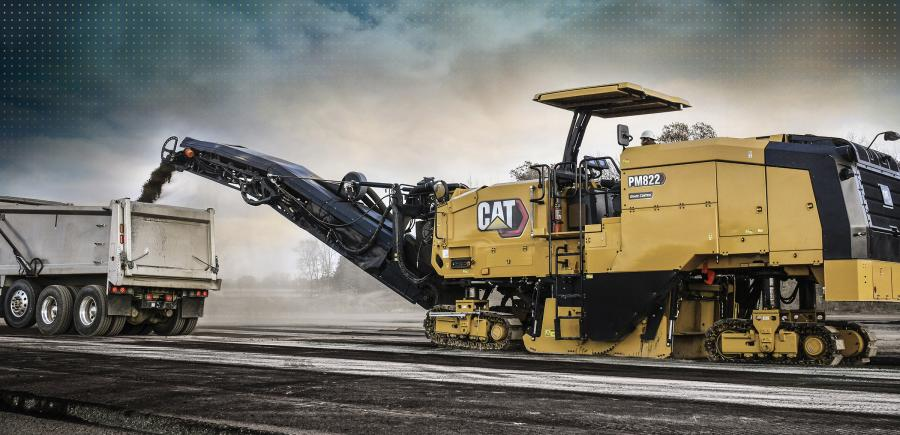 The 630 hp (470 kW) PM620 and PM622 are powered by the well-known Cat C18 engine. The heavier and more powerful PM820, PM822 and PM825 are powered by the same C18 engine with a twin-turbo setup to deliver 800.6 hp (597 kW), up to 27 percent more power than the PM620 and PM622.