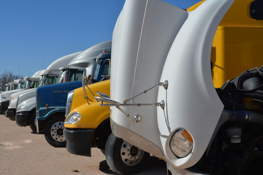 In addition to construction equipment, Iron Bound sales feature a good selection of late-model trucks and ag equipment.