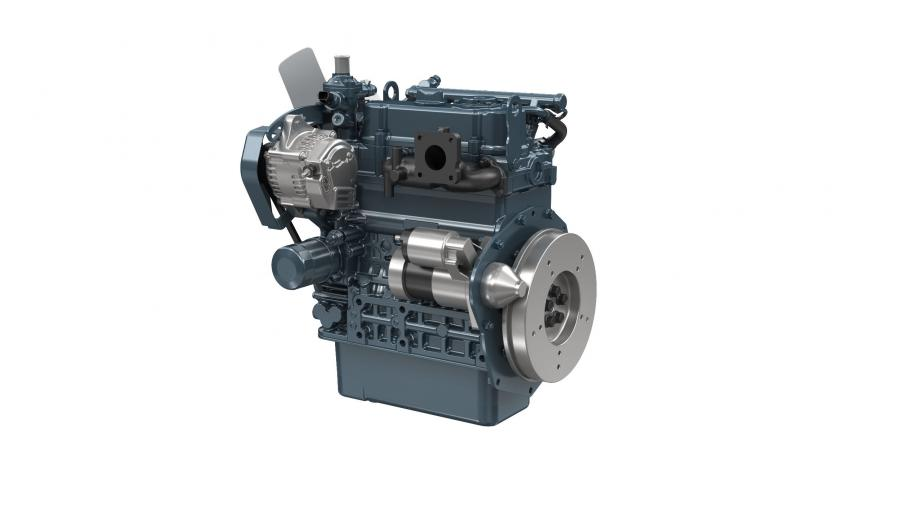 Equipped with a one-of-a-kind common rail system developed exclusively for small engines, the electronically controlled D902-K comes with a new TVCR combustion system. The result is an engine that is compact and easy to mount and reduces the amount of black smoke to an undetectable level, according to the manufacturer.
