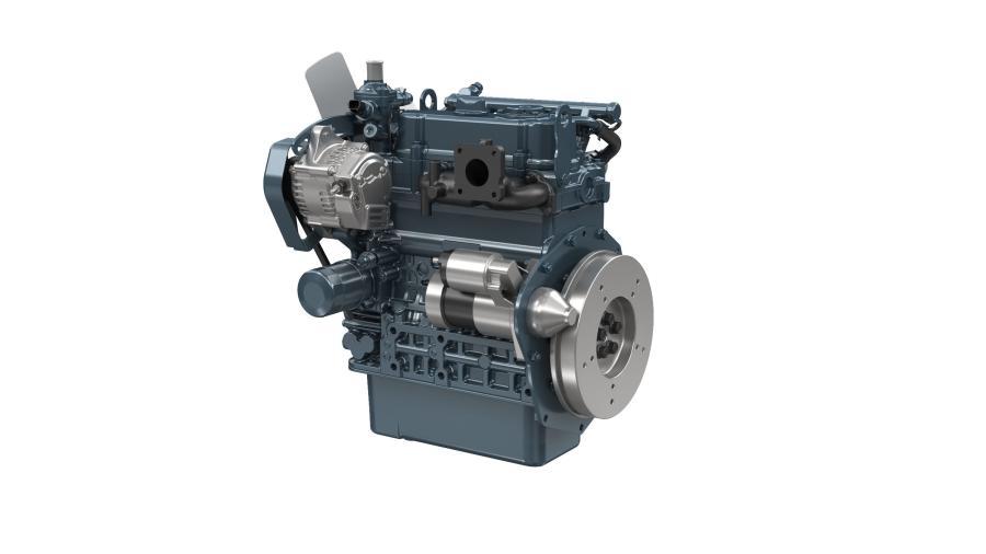 配备了一种专为小型发动机开发的共轨系统,电子控制的D902-K配备了一个新的TVCR燃烧系统。据制造商介绍,这款发动机结构紧凑,易于安装,并将黑烟减少到无法检测的水平。