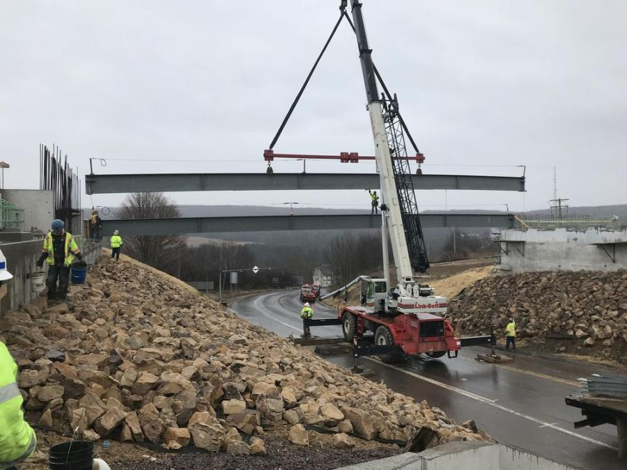 After a winter slow-down, crews are getting back to work to complete a design-build highway project in Grantsville, Md., which is in the westernmost part of the state, Garrett County.