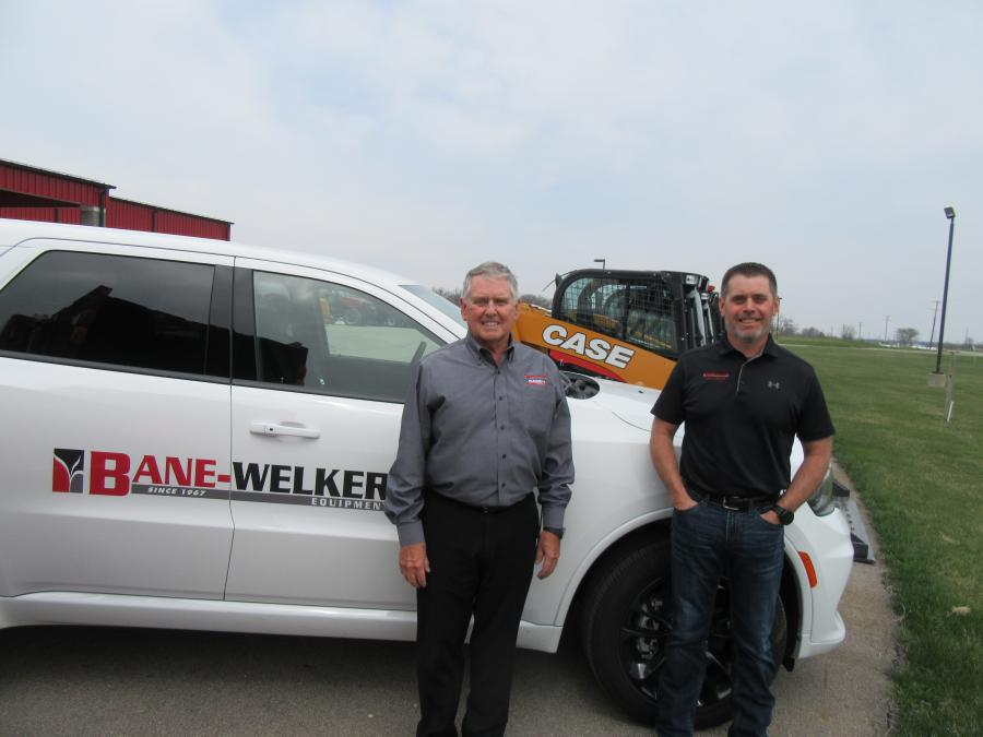 Phil Bane (L), former president and current CEO of BWE, and Jason Bane, president of BWE, have announced the company's acquisition of Evolution Ag dealerships in Ohio.