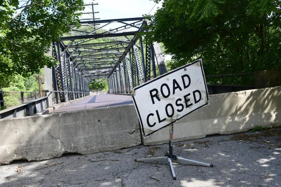 The Grant Street Bridge, which was closed in 2019 due to structural deterioration, will be seeing a $10.5 million replacement in the near future. Norfolk Southern, which owned the bridge and had a maintenance agreement with the city, agreed to contribute $500,000 towards the replacement project and relinquish ownership to the city of Bluefield. (BDT photo)