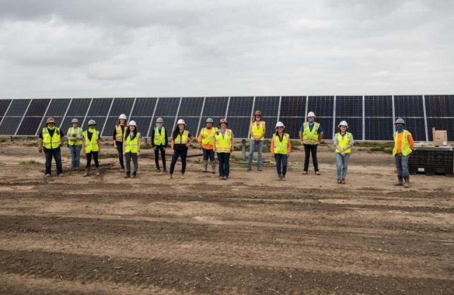 The Aktina Renewable Power Project calls for the installation of 1.4 million solar modules across 4,000 acres in Wharton County, located outside the Houston metro area.