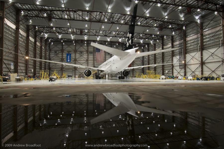 """The completion of Hangar X at the United Technical Operations Center presented a unique set of challenges that all project stakeholders worked collaboratively to effectively and creatively solve,"" said Jason Fuller, Manhattan Construction Company vice president."