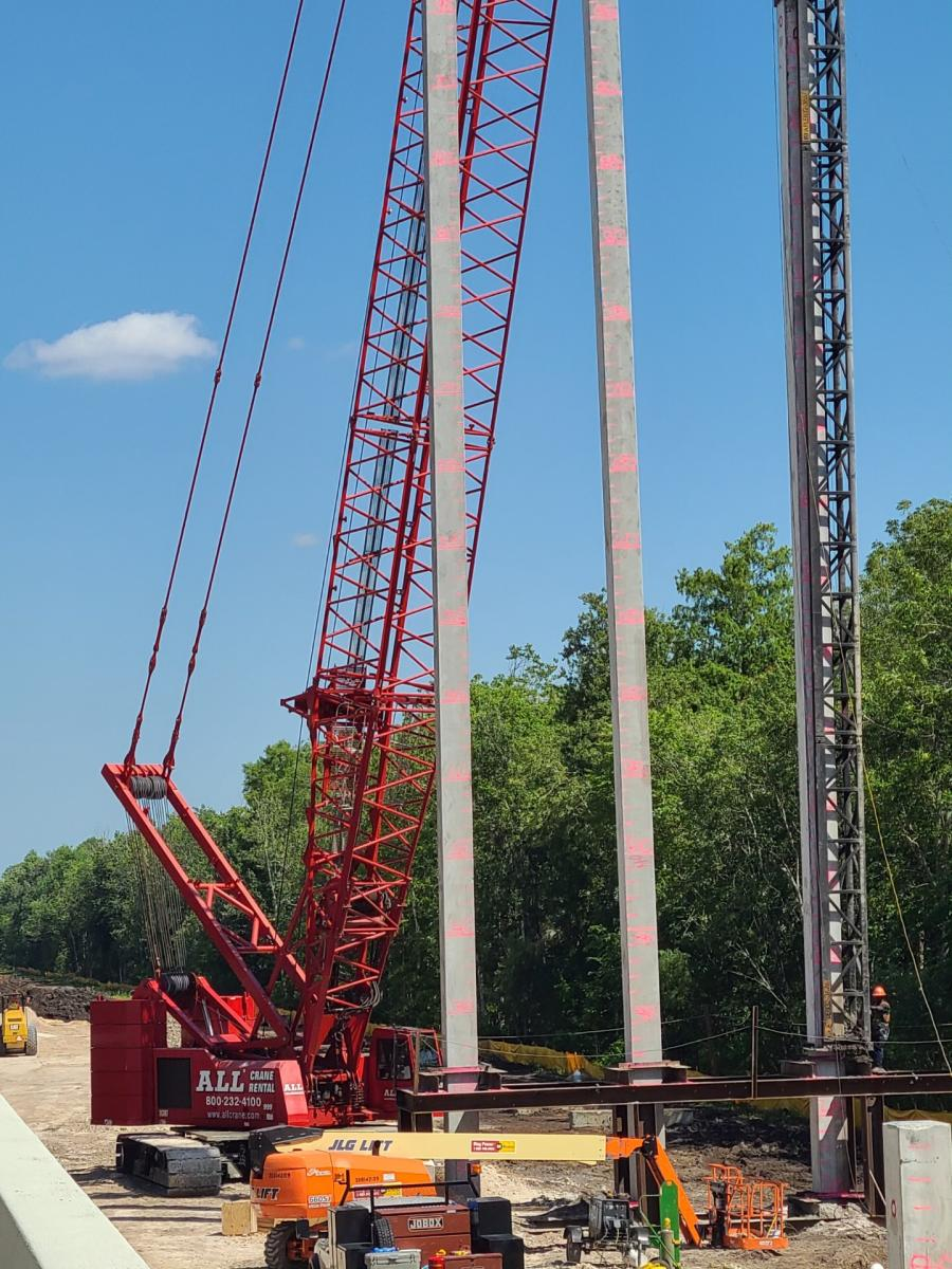 Lane Construction is general contractor of the 1.5-mi. bridge job, dubbed Poinciana Parkway Phase 2, and has selected ALL Crane Rental of Florida, a member of the ALL Family of Companies, to provide lift equipment.