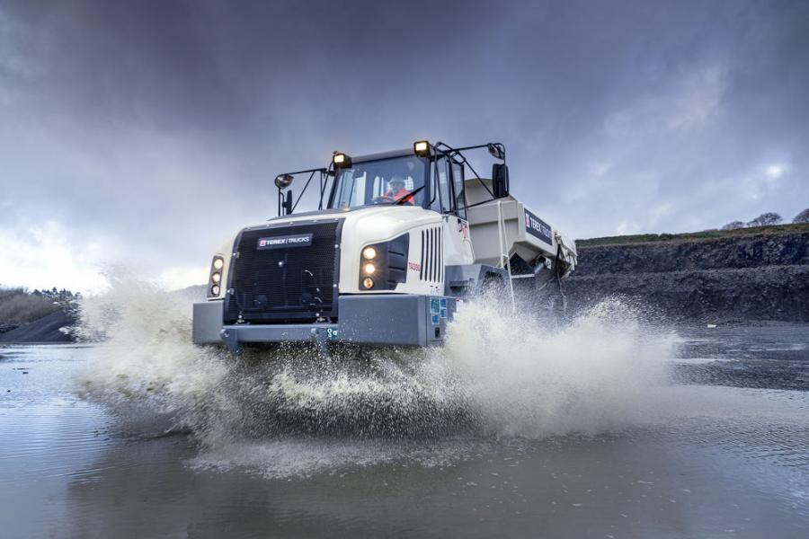 Terex Trucks' robust, high-quality haulers are well-suited to the Canadian market as they perform well in cold conditions and can handle rough terrain.