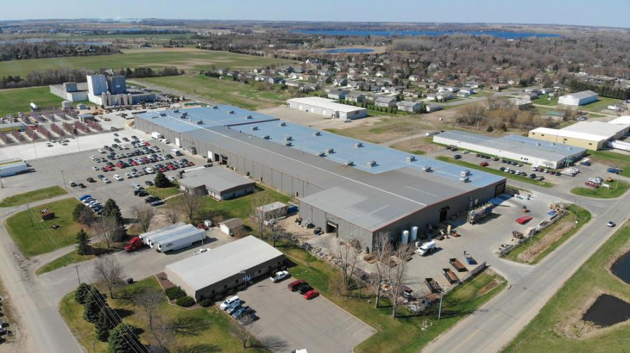 The 15-month project nearly tripled the size of the facility, from 70,000 sq. ft. of office and manufacturing space to nearly 200,000 sq. ft. and will create a significant number of new jobs in the community.