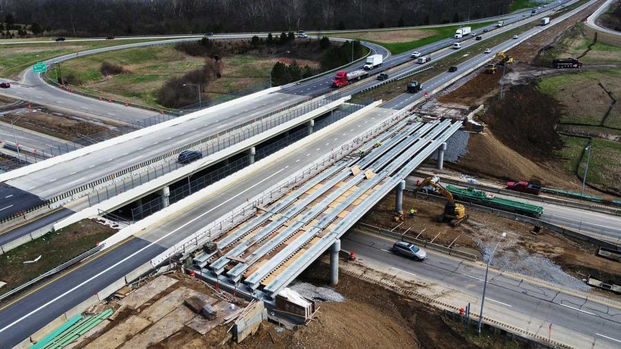 ODOT's $1.92B 2021 construction program includes improvements to 876 bridges and 4,596 mi. of pavement. (Ohio Department of Transportation photo)