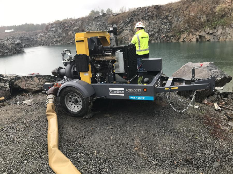 RB Scott will provide rental, sales, service and distribution of Atlas Copco diesel and electric dewatering pumps to end users throughout Wisconsin, Illinois, Minnesota and South Dakota.