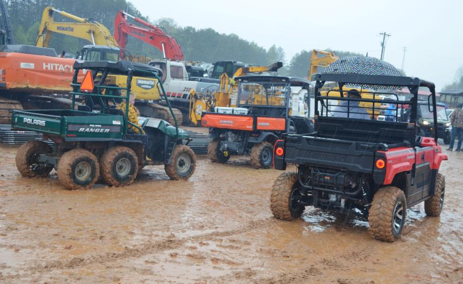 Another Joey Martin Auctioneers' day of fun-in-the-mud in Blairsville, Ga.