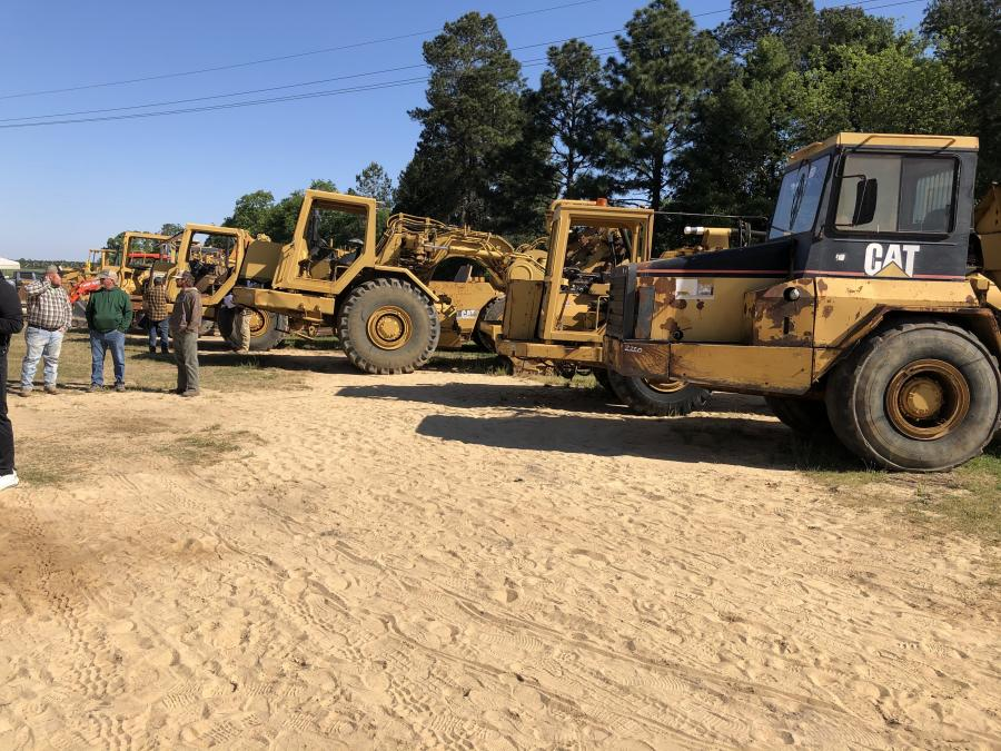 The auction featured a great lineup of construction and farm equipment, trucks, trailers and more.