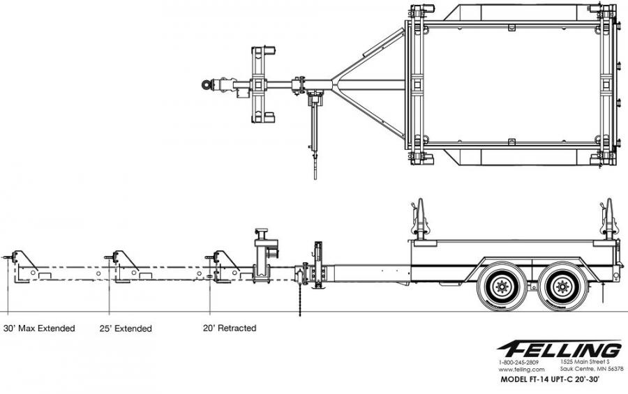 FT-14 UPT-C in 20 ft./30 ft. length.