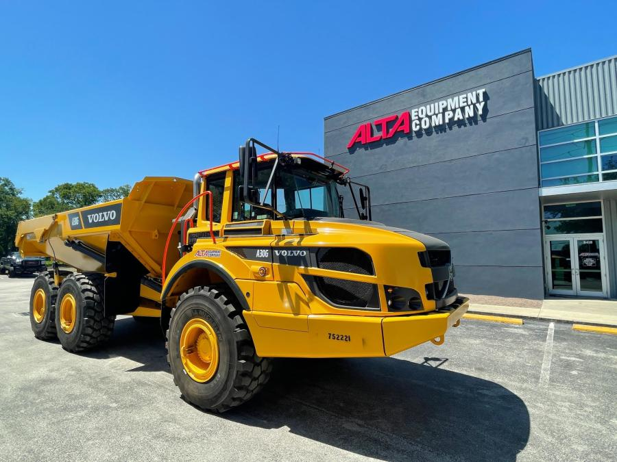 Alta Equipment Company is Volvo's 2020 Dealer of the Year in North America.