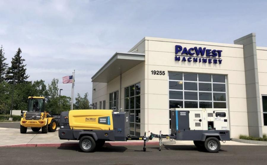 PacWest Machinery now offers Atlas Copco portable power equipment in the Pacific Northwest.
