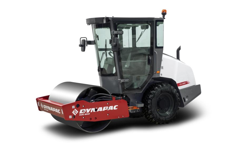 To improve operator's comfort Dynapac is introducing a cab with fresh air ventilation, heating and air conditioning.