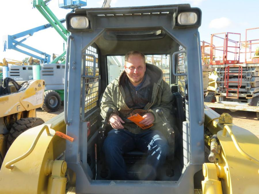 Korry Ardell of KLA Construction Equipment is interested in bidding on this Gehl 7810 turbo skid steer.